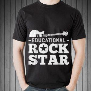 Awesome Educational Rockstar Rock Guitar shirt 1