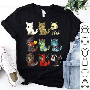 Awesome German Shepherd Scary Costumes Funny Dog Halloween Gift shirt