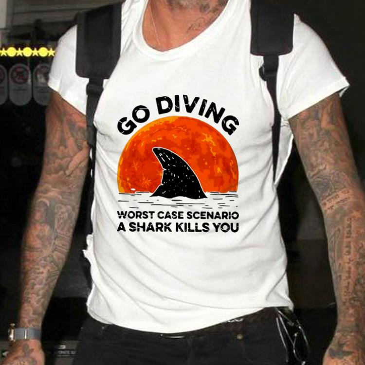 Awesome Go Diving Worst Case Scenario A Shark Kills You