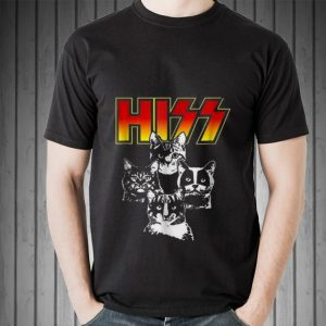 Awesome Hiss Kitten Cats Rock shirt 1