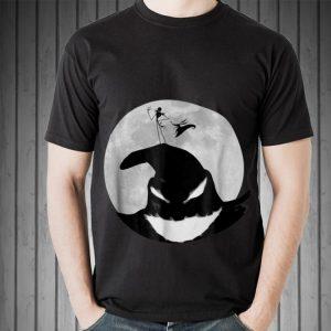 Awesome Jack Skellington Disney Nightmare Oogie Boogie Moon shirt
