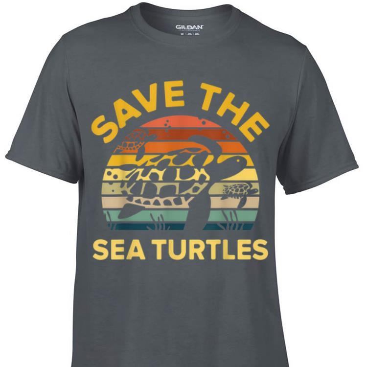 Awesome Save The Sea Turtle Vintage shirt 1 - Awesome Save The Sea Turtle Vintage shirt