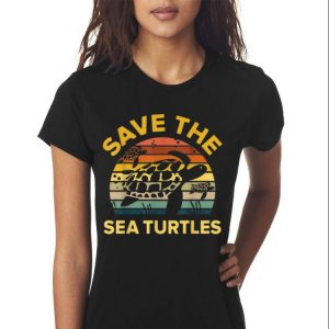 Awesome Save The Sea Turtle Vintage shirt 2