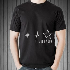Awesome Texas Cowboy Heartbeat with Lonestar Its In My DNA shirt 1
