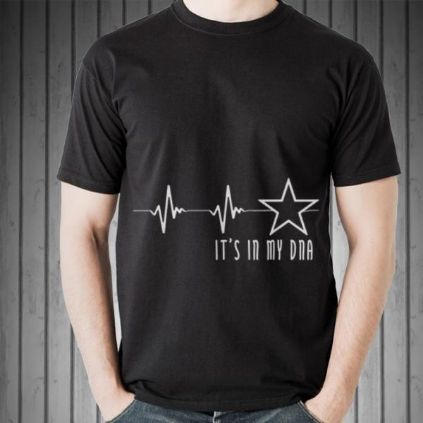 Awesome Texas Cowboy Heartbeat with Lonestar Its In My DNA shirt