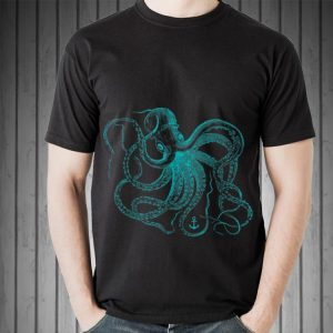 Awesome Vintage Octopus Ocean Sea Life Cool Animals shirt