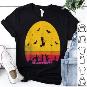 Beautiful Horror Halloween Vintage Sunset shirt