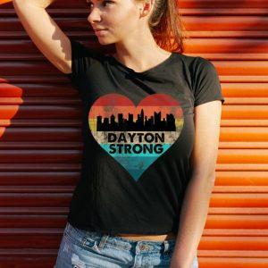 Funny Dayton Strong Ohio Heart Vintage shirt 2