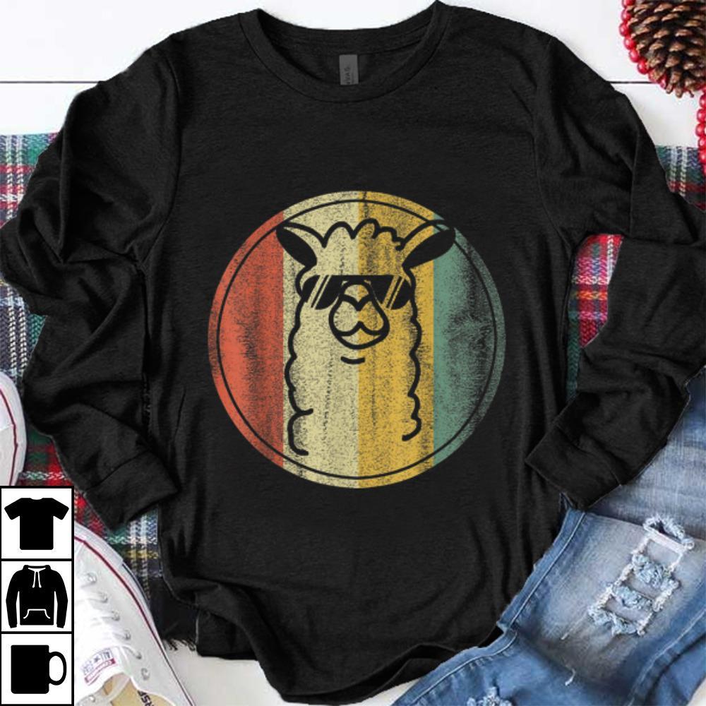 Funny Vintage kein Prob Lama Alpaka shirt 1 - Funny Vintage kein Prob Lama Alpaka shirt