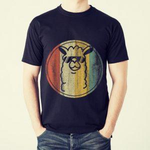 Funny Vintage kein Prob Lama Alpaka shirt