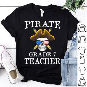 Hot Grade 7 Teacher Halloween Party Costume Gift shirt