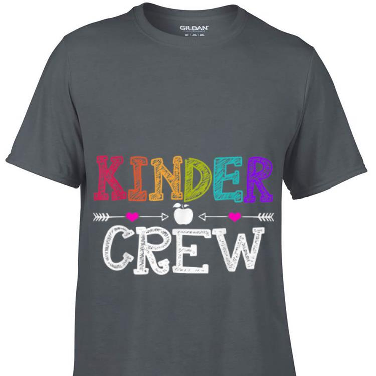 Kinder Crew First day of School sweater 1 - Kinder Crew First day of School sweater