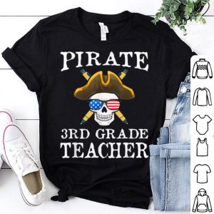 Official 3rd Grade Teacher Halloween Party Costume Gift shirt