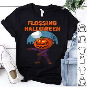 Official Flossing Halloween Pumpkin With The Famous Floss Dance shirt
