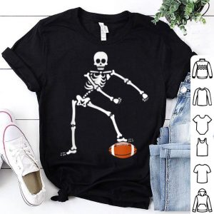Official Flossing Skeleton Football Halloween Sport Lover Gift shirt