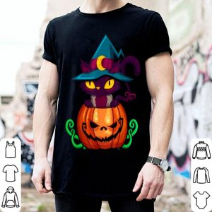 Official Kitten In A Pumpkin - Halloween Jack-o-lantern Cat shirt