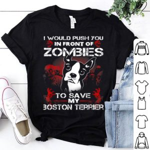 Original Boston Terrier Halloween Costume For Boxer Dog Lover shirt