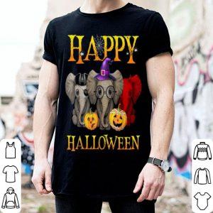Original Elephant Happy Halloween Pumpkin For Elephant Lovers shirt