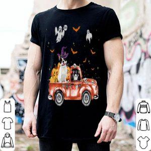 Original French Bulldog Truck Pumpkin Halloween Gift For Dog Lovers shirt