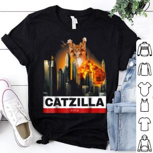 Premium Catzilla - Funny Kitty For Cat Lovers To Halloween shirt