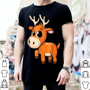 Premium Cute Baby Reindeer - Christmas Animal Rudolph shirt