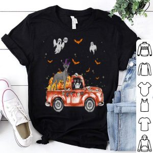 Top Great Dane Truck Pumpkin Halloween Gift For Dog Lovers shirt
