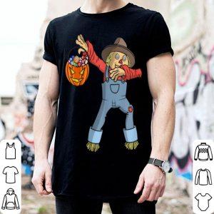 Top Happy Daboween Scarecrow Halloween Dabbing Trick Dab shirt