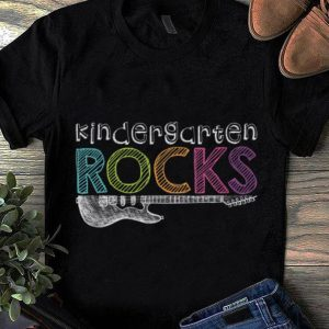 Top Kindergarten Rocks With Guitar Electric shirt