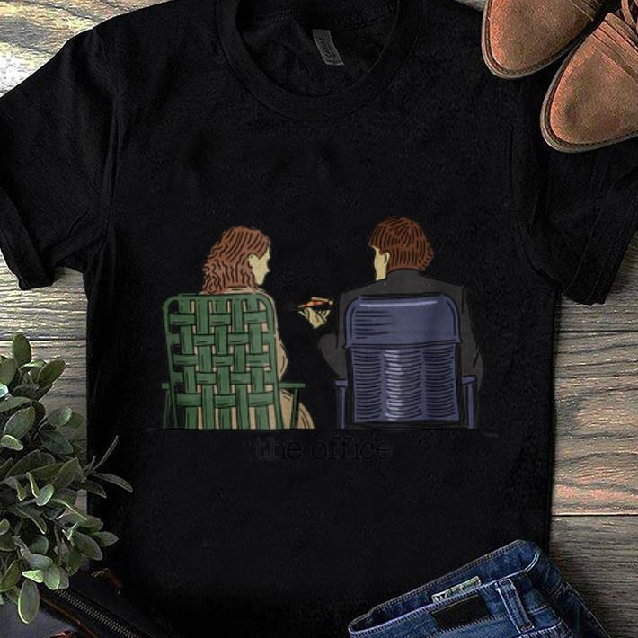 Top The Office Jim and Pam Roof Date shirt 1 - Top The Office Jim and Pam Roof Date shirt