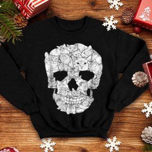 Awesome Cat Skull - Kitty Skeleton Halloween Costume Idea shirt