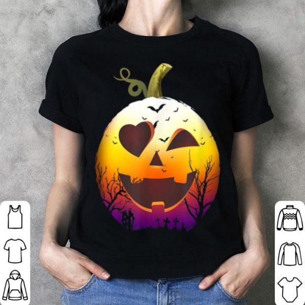Awesome Halloween Carved Pumpkin Face Jack O' Lantern Meme shirt