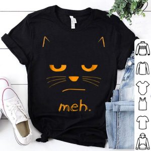 Awesome Halloween Cat Meh shirt