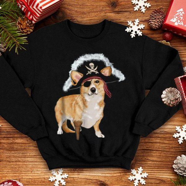 Corgi Pirate Halloween Dog Lovers Costumes shirt