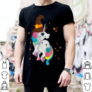 Halloween Unicorn Witch Cute Trick Or Treat Trendy Gift shirt