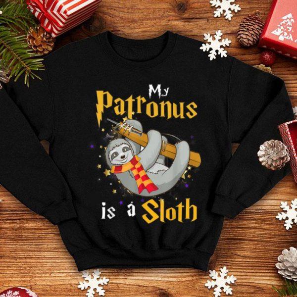 Hot My Patronus Is a Sloth Halloween and Christmas Gift shirt