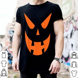 Jack O Lantern Pumpkin Face Scary Halloween Costume shirt