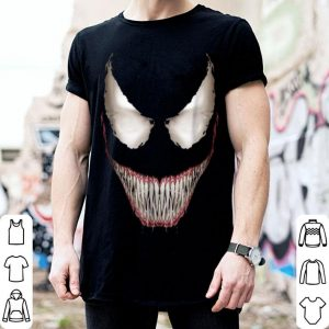 Marvel Venom Big Face Grin Halloween Costume Graphic shirt