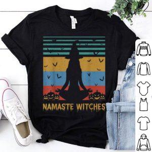 Namaste Witches Yoga Witch Vintage Halloween shirt