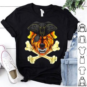 Original Vampire Pirate Dog Halloween Labrador Retriever Dog shirt