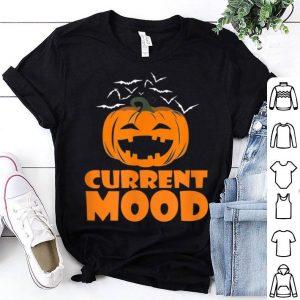Pumpkin Current Mood Monday Halloween shirt