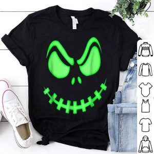 Pumpkin King - Halloween Spooky Skeleton Face shirt