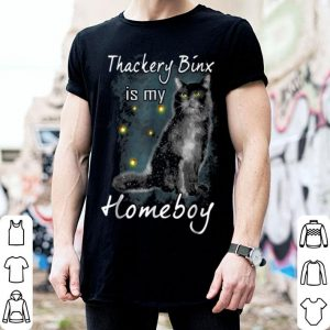 Thackery Binx Is My Homeboy Halloween Cat Lovers shirt