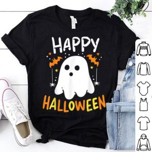 Top Trick Or Treat Halloween Ghost Pumpkin Cat shirt