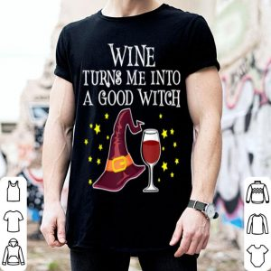 Wine Glass Of Witchcraft Halloween Funny Wine Lover shirt