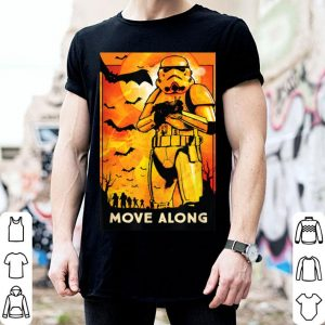 Awesome Star Wars Stormtroopers Move Along Halloween shirt