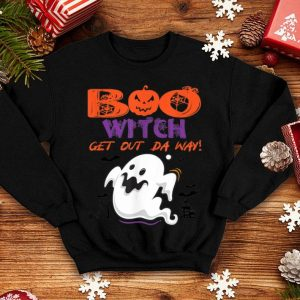 Beautiful Boo Witch Get Out The Way Funny Halloween Ghost Costume shirt