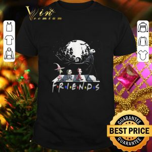 Best Nightmare Before Christmas characters Friends Abbey Road shirt