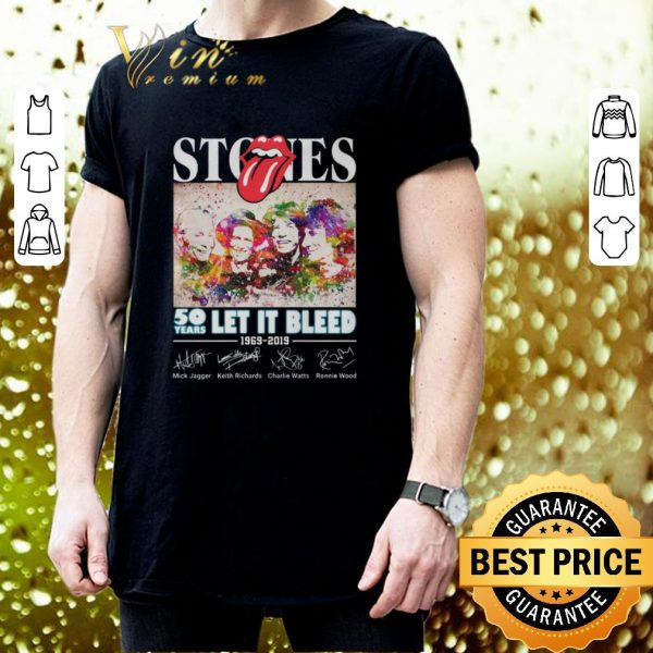 Best The Rolling Stones 50 years Let It Bleed 1969-2019 shirt