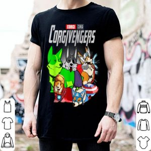 Funny Corgi Dog Lover Gift Corgivengers For Women Men Fans shirt