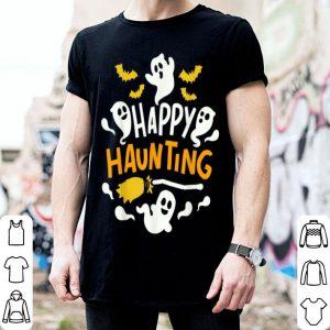 Hot Halloween Happy Haunting Ghost Tee shirt